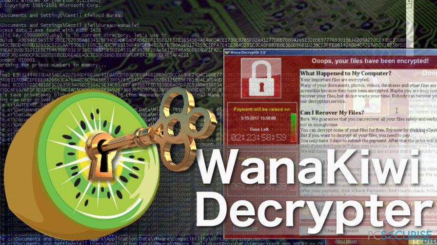Comment récupérer les fichiers cryptés par Wanakiwi ?