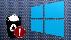 Mise à jour automatique de Windows 10 en pause à cause des fichiers utilisateurs supprimés