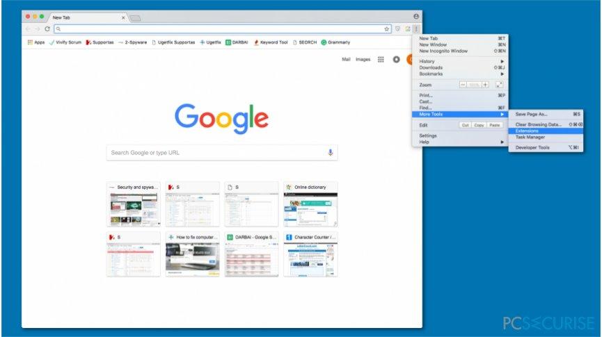 High CPU by Chrome