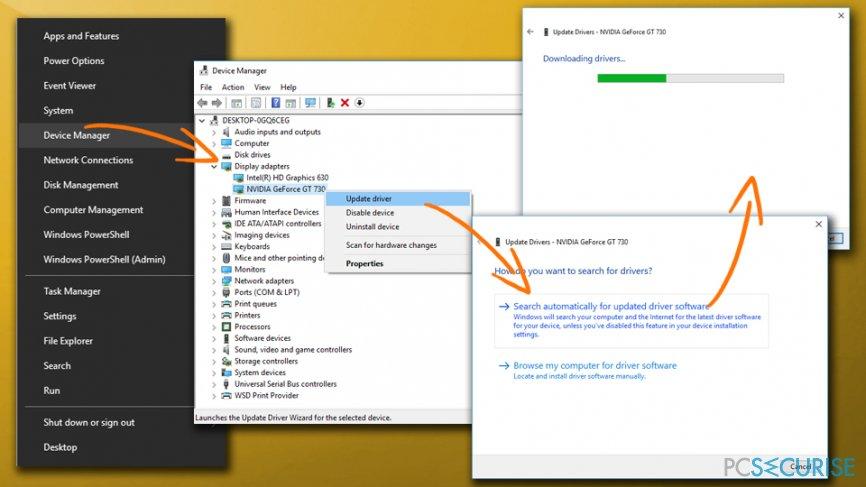 DXGI_ERROR_DEVICE_HUNG error - update graphics drivers