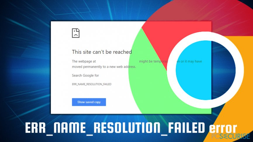 Fix ERR_NAME_RESOLUTION_FAILED error