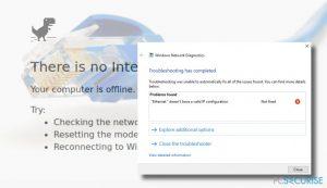 Comment Corriger l'Erreur « Ethernet n'a pas une Configuration IP valide » ?