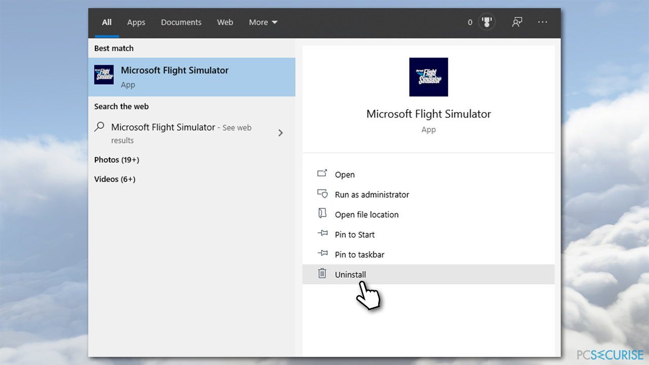 How to fix Microsoft Flight Simulator won't launch – the icon not working?
