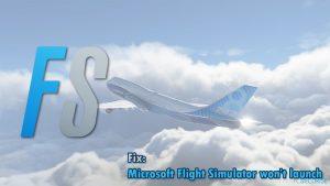 Comment fixer le problème de Microsoft Flight Simulator qui ne se lance pas - l'icône ne fonctionne pas ?