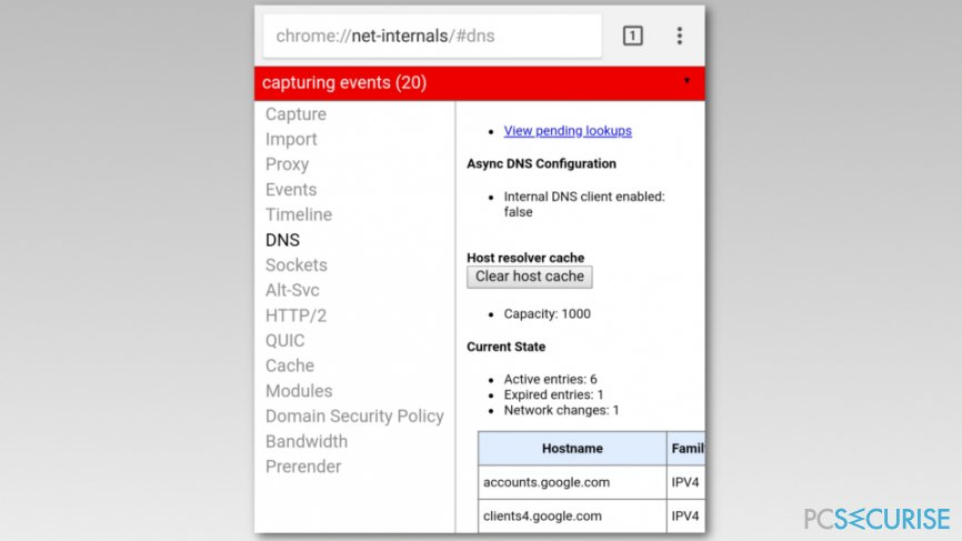 Flush DNS cache on Android