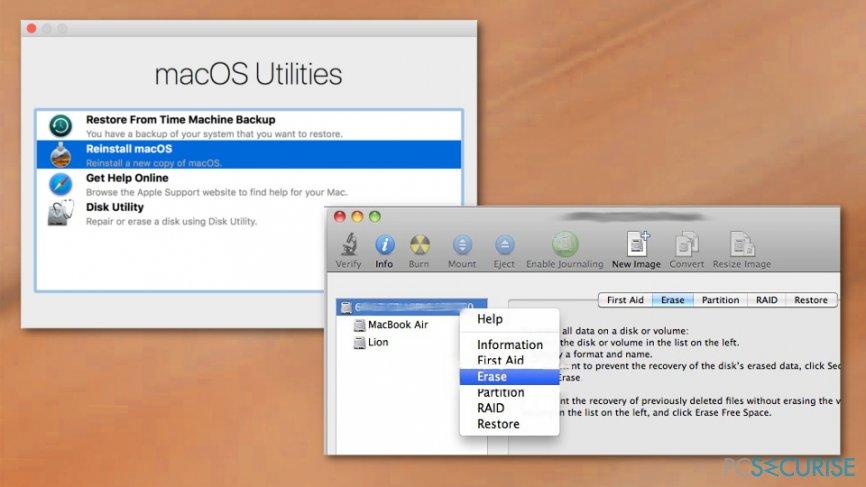 MacOS reboot options