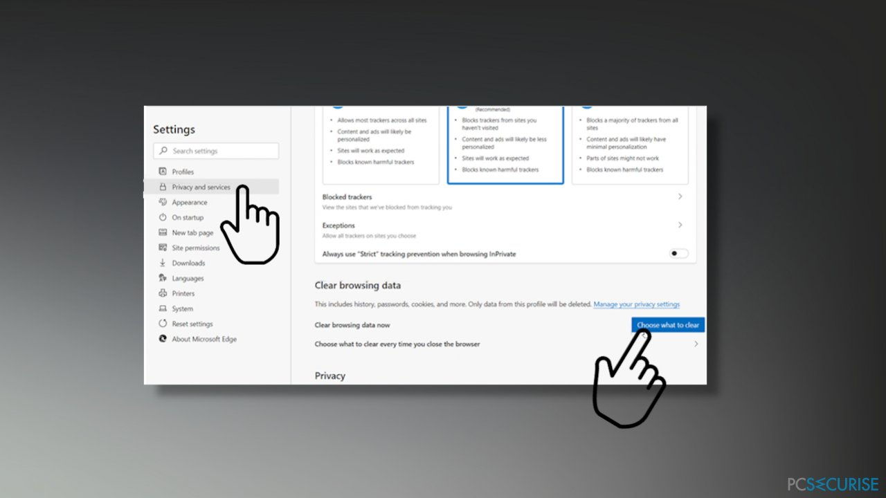 Issue of not opening files on Microsoft Edge browser