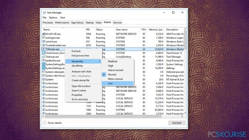 File priority