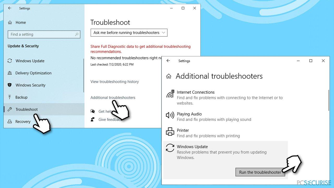 How to fix Windows Update error 0x80242016?