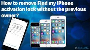 Comment Outrepasser le Verrouillage de la Fonction « Find my iPhone » sans le Détenteur Précédent ?