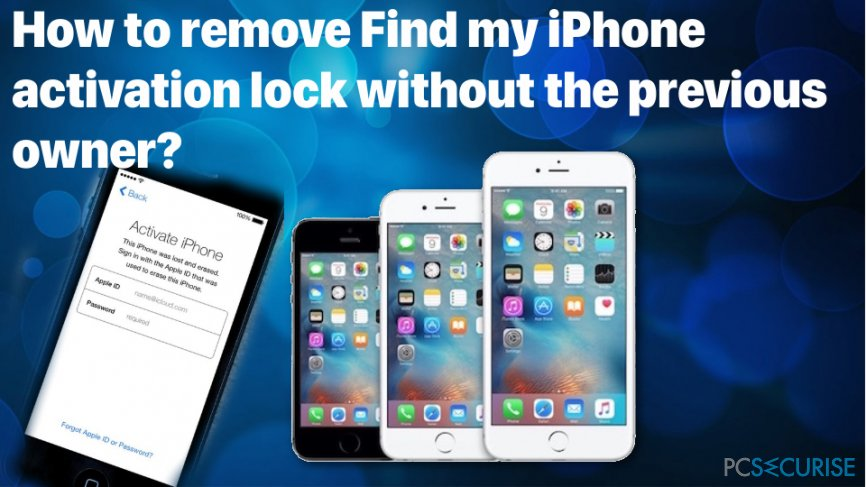 How to remove Find my iPhone activation lock for free