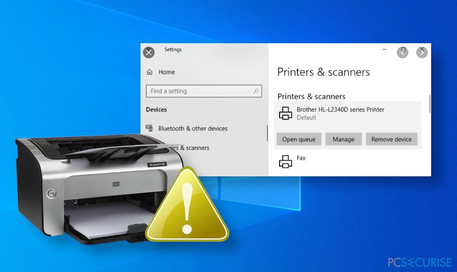 Printer stopped working after Windows 10 update