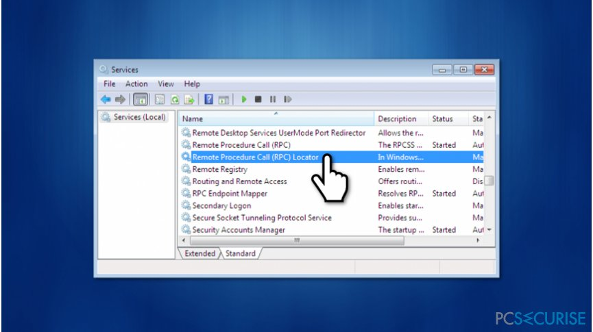 """How to Fix """"The remote procedure call failed and did not execute"""" Error on Windows?"""