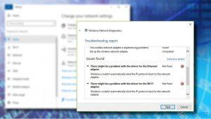 Comment Corriger l'Erreur « Il peut y avoir un problème avec le pilote de la carte Ethernet » sous Windows ?