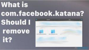 Qu'est-ce que com.facebook.katana ? Dois-je le supprimer ?